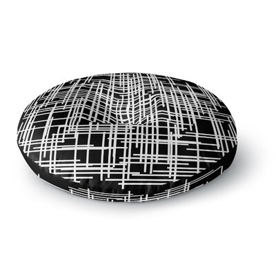 Trebam Visina Abstract Round Floor Pillow Size: 23 x 23