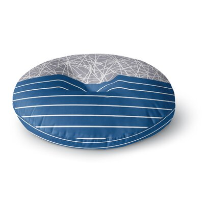 Trebam Odvojen Abstract Round Floor Pillow Size: 26 x 26