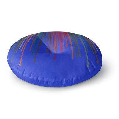 Trebam Vosak Round Floor Pillow Size: 23 x 23