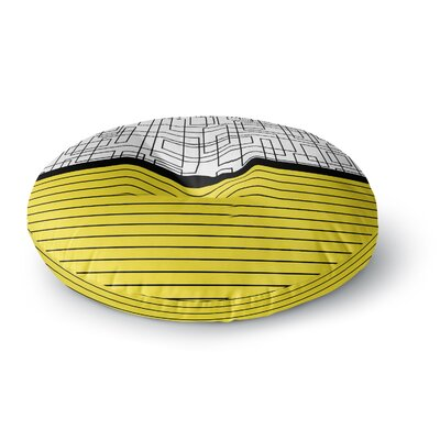 Trebam Pola V.2 Round Floor Pillow Size: 23 x 23