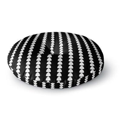 Trebam Perla Round Floor Pillow Size: 26 x 26