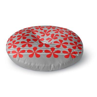 Trebam Crvena Round Floor Pillow Size: 26 x 26