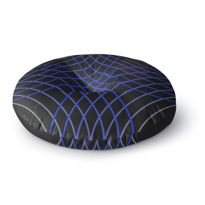 Trebam Cesta Digital Round Floor Pillow Size: 23 x 23