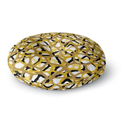 Trebam Staklen V.2 Digital Round Floor Pillow Size: 23 x 23