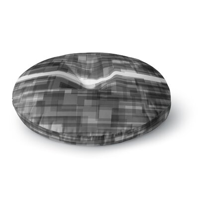 Trebam Plima V.2 Digital Round Floor Pillow Size: 23 x 23