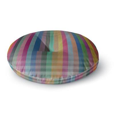 Trebam Kolor V3 Digital Modern Vector Round Floor Pillow Size: 26 x 26