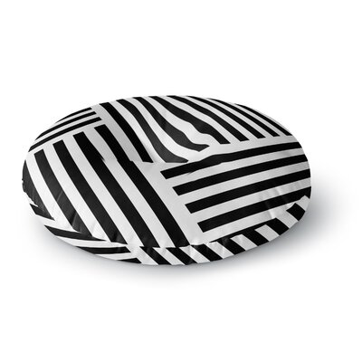 Trebam Zumirati Digital Round Floor Pillow Size: 26 x 26