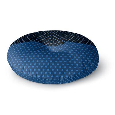 Trebam Tufna V.2 Modern Digital Round Floor Pillow Size: 23 x 23