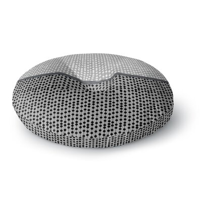 Trebam Okomito Digital Round Floor Pillow Size: 26 x 26