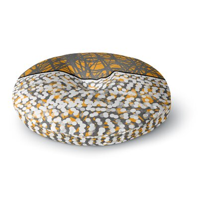 Trebam Sunce Digital Round Floor Pillow Size: 26 x 26