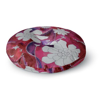 Theresa Giolzetti Succulent Dance II Round Floor Pillow Size: 23 x 23