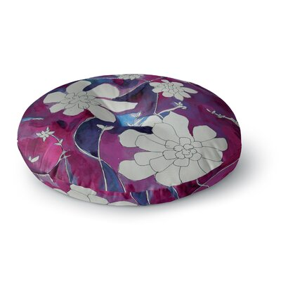 Theresa Giolzetti Succulent Dance III Round Floor Pillow Size: 26 x 26