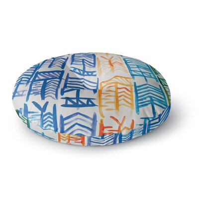 Theresa Giolzetti Quiver II Round Floor Pillow Size: 26 x 26