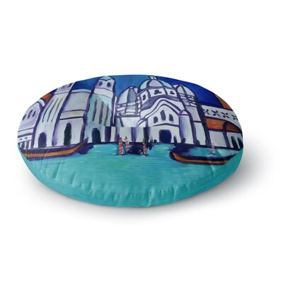 Theresa Giolzetti Venice Round Floor Pillow Size: 26 x 26
