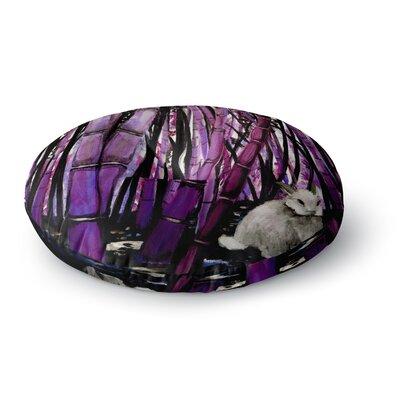 Theresa Giolzetti Bamboo Bunny Round Floor Pillow Size: 26 x 26
