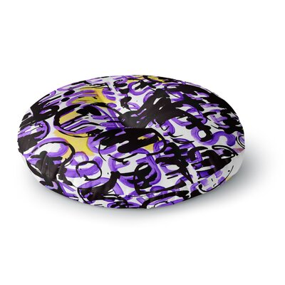 Theresa Giolzetti Theodoras Mess Round Floor Pillow Size: 23 x 23
