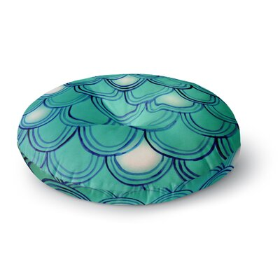 Theresa Giolzetti Mermaid Tail Round Floor Pillow Size: 26 x 26