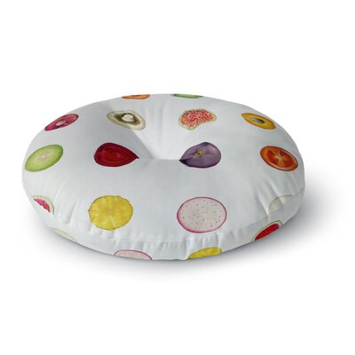 Theresa Giolzetti Fruit Food Round Floor Pillow Size: 26 x 26