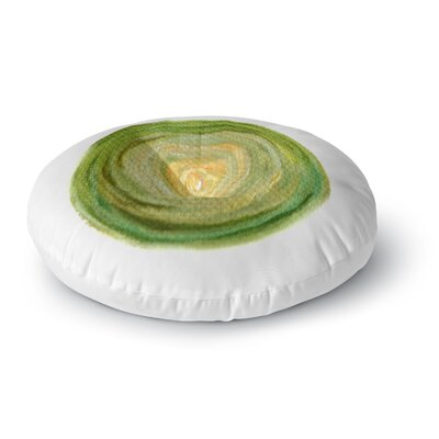 Theresa Giolzetti Leeks Round Floor Pillow Size: 26 x 26