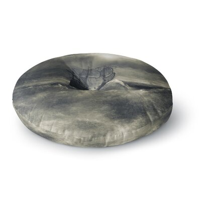 Viviana Gonzalez Chapter III Dark Ship Round Floor Pillow Size: 26 x 26