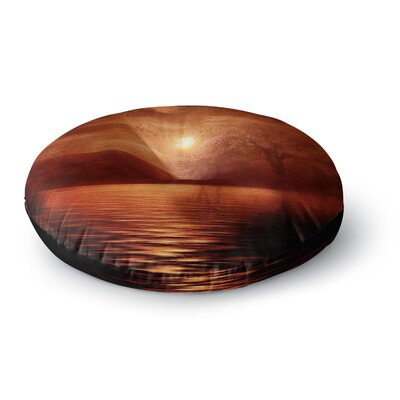 Viviana Gonzalez Woods to Conjure Round Floor Pillow Size: 23 x 23