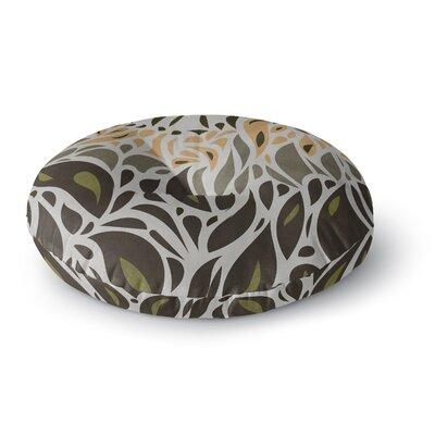 Viviana Gonzalez Africa - Abstract Pattern II Round Floor Pillow Size: 23 x 23