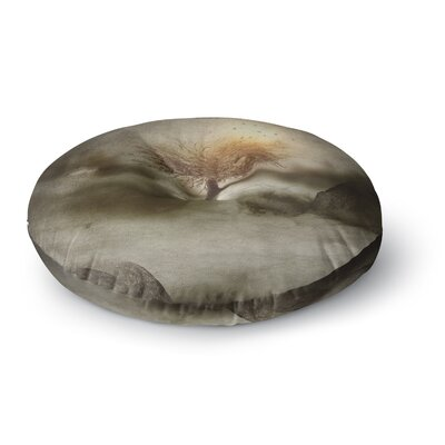 Viviana Gonzalez Lone Tree Love IV Nature Round Floor Pillow Size: 23 x 23