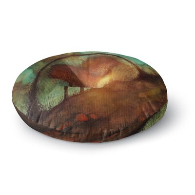 Viviana Gonzalez Track 28: Sunset and Dreams II Round Floor Pillow Size: 23 x 23