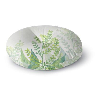 Viviana Gonzalez Botanical Vibes 06 Digital Round Floor Pillow Size: 23 x 23