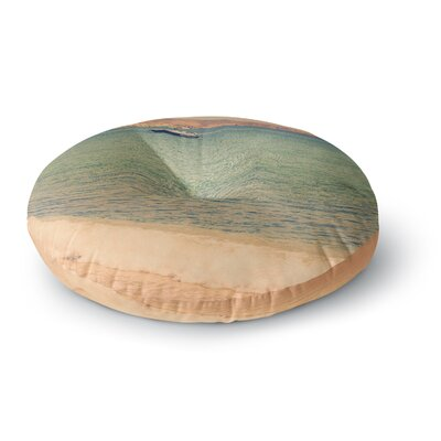 Violet Hudson Drifting By Round Floor Pillow Size: 23 x 23