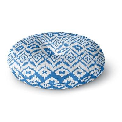 Victoria Krupp Vk_Ikat Tribal Round Floor Pillow Size: 23 x 23