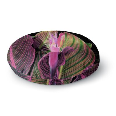 Victoria Krupp In the Dark Digital Round Floor Pillow Size: 26 x 26