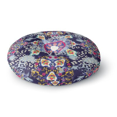 Victoria Krupp Eastern Medallion Vector Round Floor Pillow Size: 23 x 23