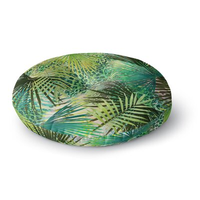 Victoria Krupp Animal Jungles Digital Round Floor Pillow Size: 26 x 26
