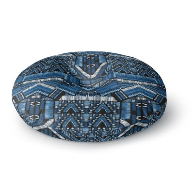 Victoria Krupp Festival Geo Illustration Round Floor Pillow Size: 23 x 23