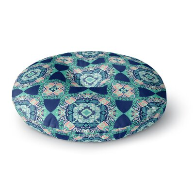 Victoria Krupp Alhambra Tile Illustration Round Floor Pillow Size: 23 x 23