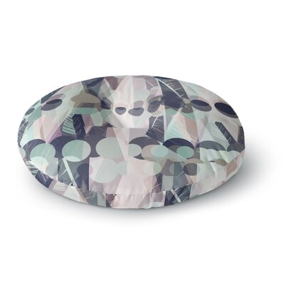 Victoria Krupp Chunky Geo Vector Round Floor Pillow Size: 26 x 26