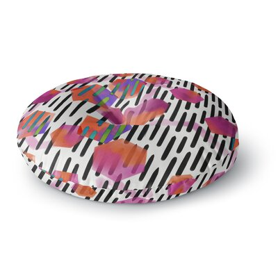 Victoria Krupp Geo Shapes Digital Round Floor Pillow Size: 23 x 23
