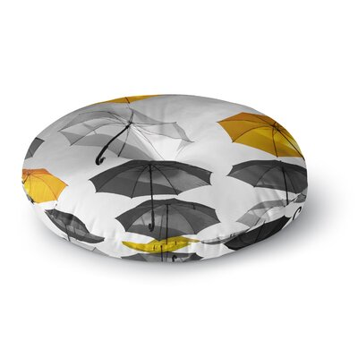 888 Design Umbrellas Round Floor Pillow Size: 23 x 23