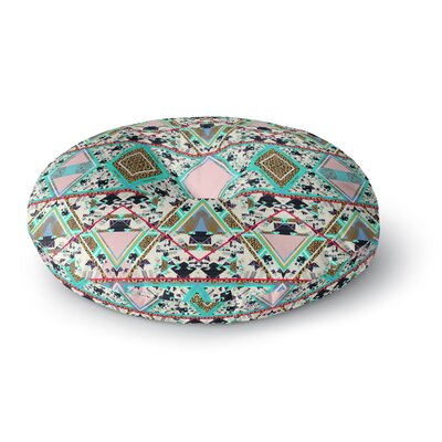 Vasare Nar Deco Hippie Round Floor Pillow Size: 23 x 23