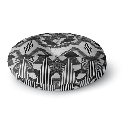 Vasare Nar Tessellation Round Floor Pillow Size: 23 x 23
