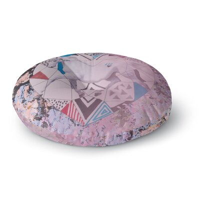 Vasare Nar Unicorn Round Floor Pillow Size: 26 x 26
