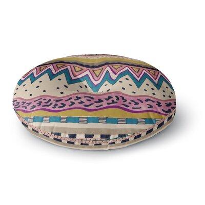 Vasare Nar Koko Round Floor Pillow Size: 26 x 26