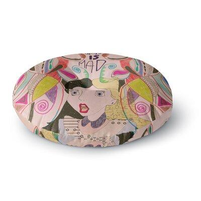 Vasare Nar Alice in Wonderland Round Floor Pillow Size: 23 x 23