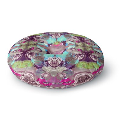 Vasare Nar Kaleidoscopic Boho Round Floor Pillow Size: 23 x 23