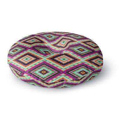 Vasare Nar 'Boho Gipsy' Round Floor Pillow Size: 23