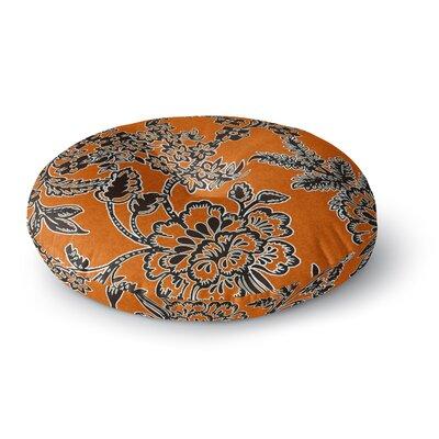 Vikki Salmela Blossom Round Floor Pillow Size: 26 x 26