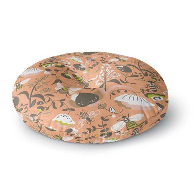 Very Sarie Hope for the Flowers I Round Floor Pillow Size: 26 x 26