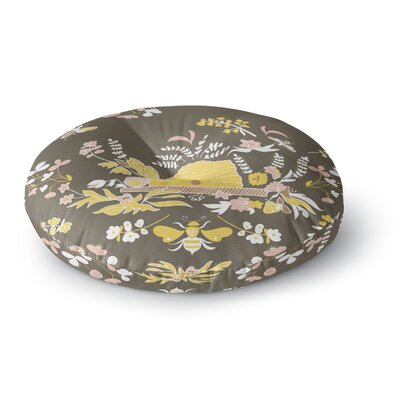 Very Sarie Hope for the Flowers II Round Floor Pillow Size: 26 x 26