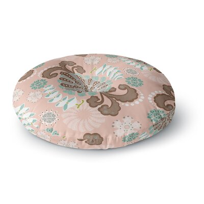 Very Sarie 'Sea Carnival' Round Floor Pillow Size: 23